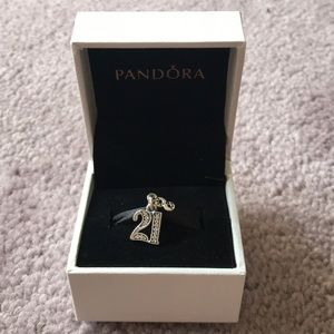 Pandora 21st Birthday Charm